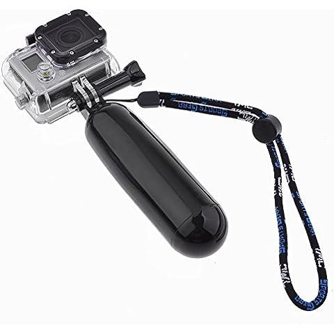 Neewer - Supporto galleggiante con vite lunga per GoPro Hero 1/2/3/3+ nero