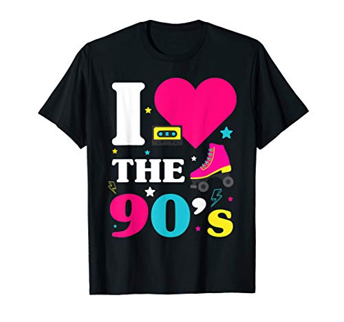90er Jahre Outfit I Love the 90s Retro Oldschool Party ()