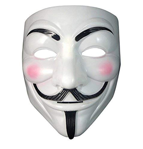 Máscara ANÓNIMA - ANONYMOUS - V PARA VENDETTA -