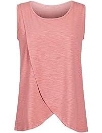 4377ed45581c6 Amazon.fr : Rose - T-shirts et tops / Vêtements grossesse et maternité :  Vêtements