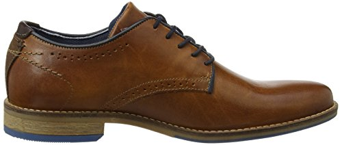Dune Brewer, Scarpe Stringate Derby Uomo Brown (Tan)