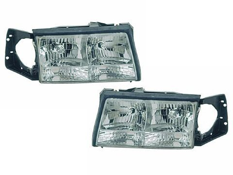 Cadillac Deville Headlights OE Style Replacement Headlamp Driver/Passenger Pa... by Headlights