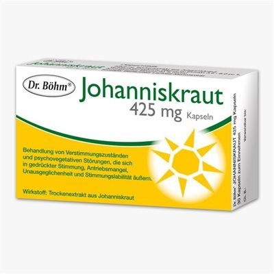 Dr. Böhm Johanniskraut Kapseln 425mg 30 Stk