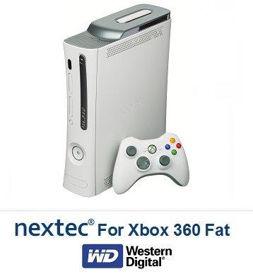 Nuovo - Xbox 360 Slim (250 GB) Hard Disk per Microsoft Xbox 360 Slim Console Xbox 360 HDD FAT (320GB)