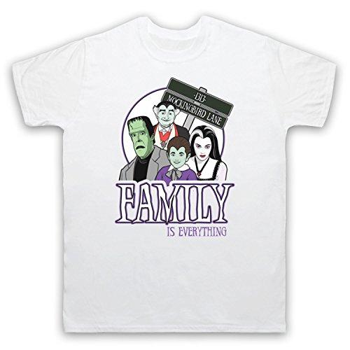 Inspiriert durch Munsters Family Unofficial Herren T-Shirt Weis