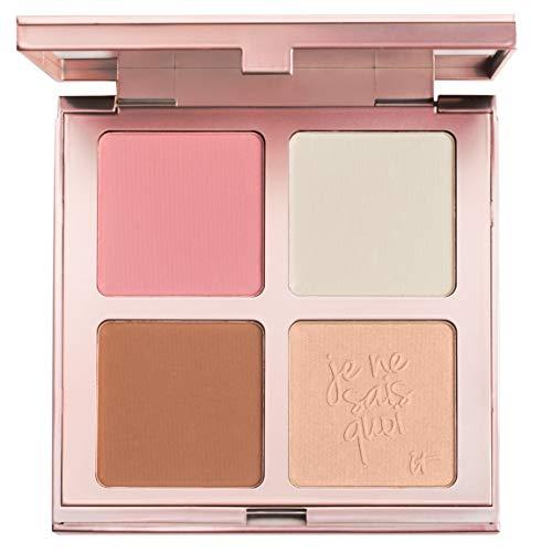 Es Cosmetics das gewisse Teint Perfection Gesicht Palette mit Bye Bye Poren Blush, Bye Bye Poren...