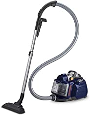 ELECTROLUX Silent Performer Cyclonic Vacuum Cleaner, Blue, 2 liters, 2000 watts,corded, bagless, ZSPC 2000