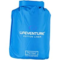 Lifeventure Cotton Sleeping Bag Liner - Rectangular