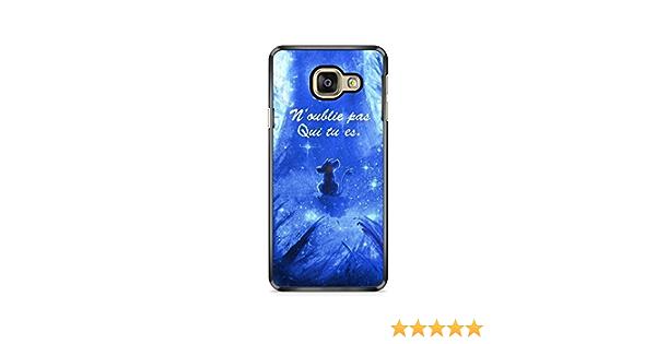 Coque Samsung Galaxy A3 2016 (Version A310) Disney Roi Lion Simba Hakuna Qui tu ES REF11418