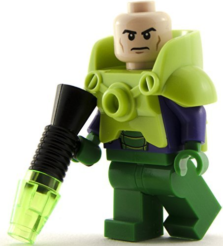 GENUINE Lego DC Super Heroes Battle Armour LEX LUTHOR Minifigure - split from Juniors 10724 set by LEGO