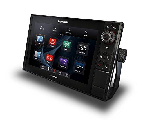 Raymarine E70285-CEUR ES-Serie ES128 Hybrid Touch Multifunktionsdisplay mit Down Vision Fischfinder (30,7 cm (12,1 Zoll), WiFi, C-MAP European Essentials Karte)