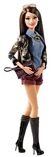 Mattel Barbie CBD29 - Deluxe Moden Fashionista Raquelle, Puppe (Barbi Puppen Fashion)