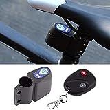 GUBBAREY Waterproof Bicycle Wireless Remote-Control Anti-Theft Alarm Electronic Lock Security Sensor Bike