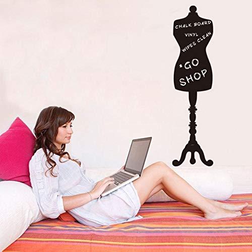 Aufwand Kein Einfache Kostüm - WJY kreative Kostüme gemusterten Bekleidungsgeschäft Ankleide Tafel Aufkleber Hintergrund Wand dekorative Wandaufkleber, 26,5 x 105 cm