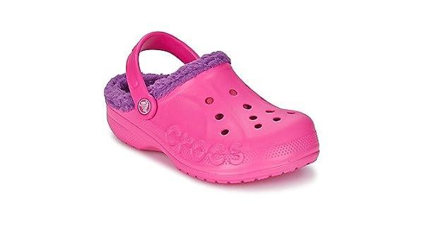 Crocs Schuhe Baya für Kinder und Jugend, mit Fell