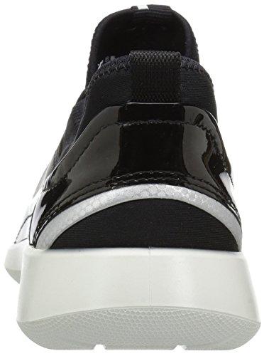 Ecco Soft 5, Baskets Basses Femme Noir (51052Black/Black)