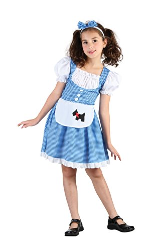 Schürze Dorothy Kleid Kostüme (Fairy Tail Girl - Dorothy - Kinder-Kostüm - XL - 146 bis)
