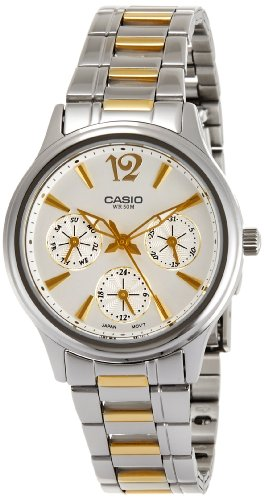 Casio (LTP-2085SG-7AVDF|A847) Enticer White Dial Women's Analog Watch image