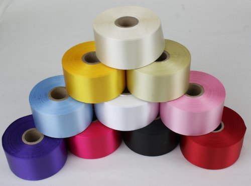 1-metre-of-45mm-wide-polyester-cake-decorating-ribbon-14-colours-to-choose-from-daffodil-yellow