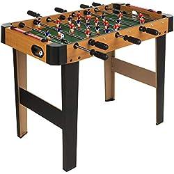 ColorBaby- Futbolín de madera CBgames, 91 x 46 x 65 cm (85333)