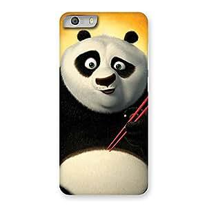 Delighted Kun Panda Multicolor Back Case Cover for Micromax Canvas Knight 2