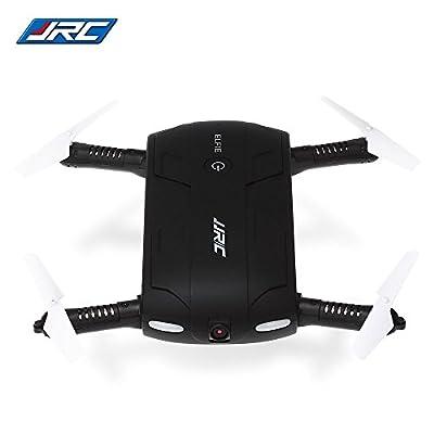 Joyhero Selfie Drone WIFI FPV 0.3MP Camera RC Mini Pocket Drone, Foldable RC Selfie Quadcopter 480P HD / G-sensor / Headless Mode For kids Gift