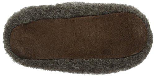 Woolsies Unisex-Erwachsene Muffy Hausschuhe Grey (Graphite Grey)