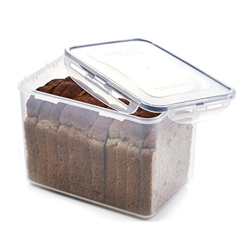 Lock & Lock Airtight Rectangular Tall Food Storage Container cup