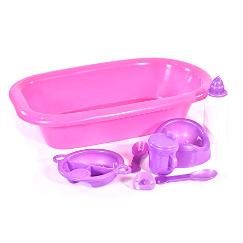 KandyToys Baby Doll Bath and Bot...