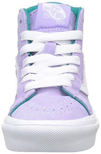 Vans Mädchen Uy Sk8-Hi Reissue Lite Hohe Sneakers Violett (Pop Lavender/true White)