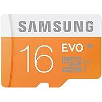 Samsung SMMICROSDEVO16 Micro Scheda SD Evo da 16GB, Argento