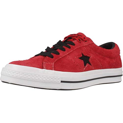 Converse One Star (Converse Herren One Star 163246C Sneaker, Rot (Red), 43 EU)