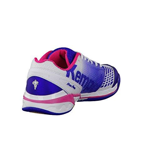 Kempa Attack One, Chaussures de Handball femme Bleu