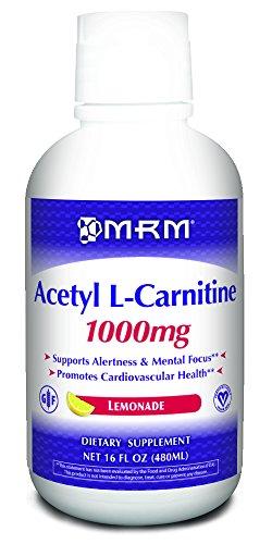 MRM, Acétyl L-Carnitine, Saveur de limonade naturelle, 1000 mg, 16 fl oz (480 ml  )