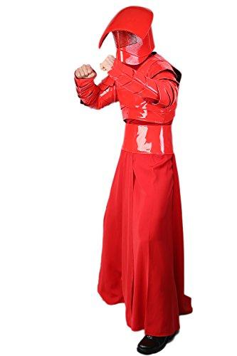 Elite Guard Kostüm Cosplay Halloween Erwachsene Herren Rot -