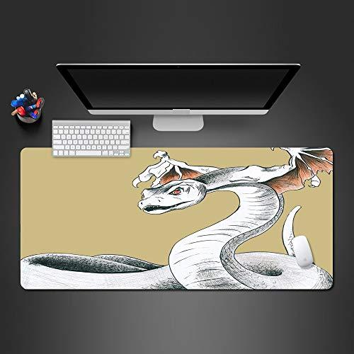 800*300*3Mmweiß Kreative Hd Mauspad Großhandel Gummi Mause Pad Spiel Zubehör Tastatur Große Mauspad