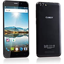 "Cubot Note S SIM doble 16GB Negro - Smartphone (14 cm (5.5""), 16 GB, 8 MP, Android, 5.1, Negro)"