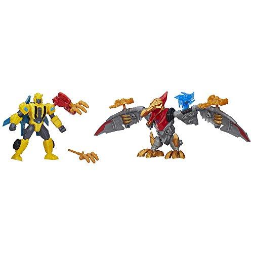 Preisvergleich Produktbild Transformers Hero Mashers Bumblebee & Strafe Mash Pack by Transformers