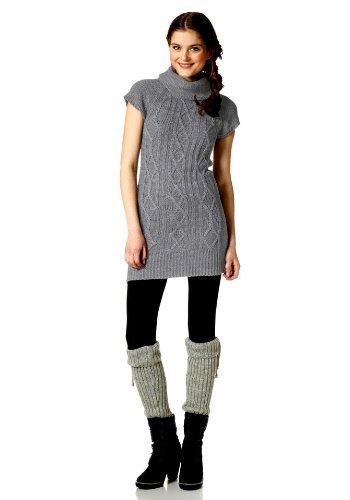 AJC Damen-Kleid Strickkleid Mehrfarbig Größe 36