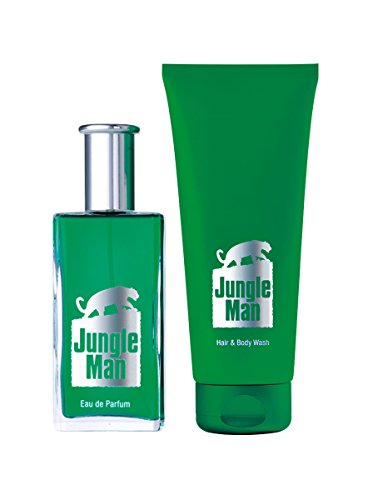 Wellnessbox Jungle man duft-set i
