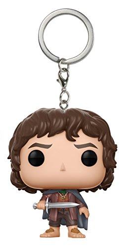 Ringe Schlüsselanhänger Figur LOTR/Hobbit: Frodo, unisex-child, Multi ()