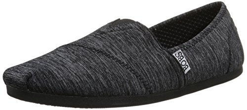 Flotteurs De Skechers Chill Luxe Chaussure Black Heather