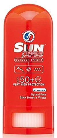 Sun Pass – Stick lèvres et zones sensibles SPF 50+
