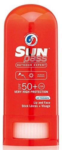 Sun Pass – Stick lèvres et zones sensibles