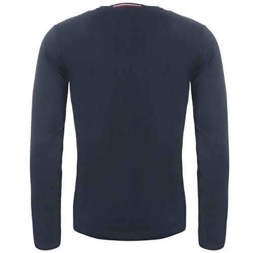 U.S. POLO ASSN. Shirt Sweatshirt Herren Langarmshirt Longsleeve Blau 168 42963 51884 177, Größenauswahl:L