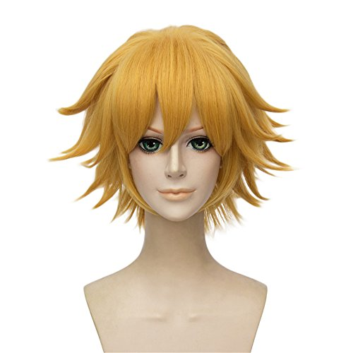 LanTing Cosplay Perücke Miraculous Ladybug chat noir Blonde Cosplay Party Fashion Anime Human Kostüm Full Wigs Synthetic Haar Heat Resistant Fiber Haar