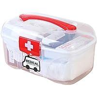 HEHAHA-STUDIO Medizin Schrank Haus Besuche Kleine Medizin Box Familie Mehrschichtige Kunststoff Aufbewahrungsbox preisvergleich bei billige-tabletten.eu
