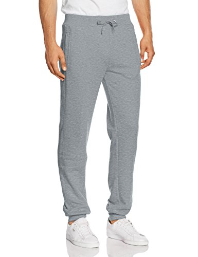 Urban Classics Straight Fit Sweatpants, Mutande Uomo Grau (grey 111)