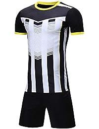 b5be209673864 LQZQSP Conjunto De Camisetas De Fútbol para Adultos Conjunto De Uniformes  Ropa De Fútbol Chaqueta Transpirable