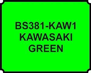 Kawasaki Green Spray Paint Code